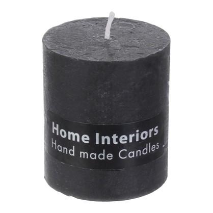 Свеча-столбик Рустик 7х8 см цвет графит