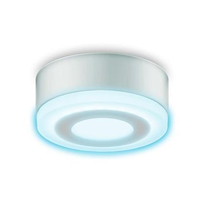 Светильник Gauss Backlight накладной BL215 круглый 6 Вт акрил 4000K свет холодный белый