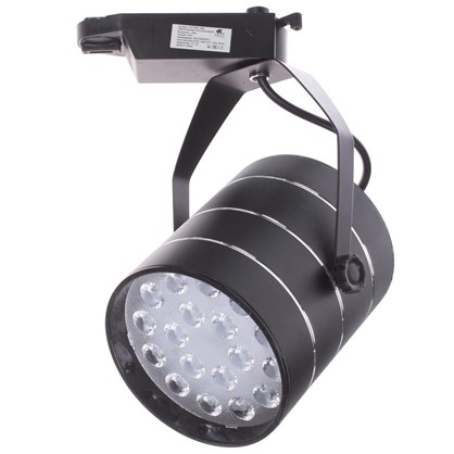 Светильник на шину светодиодный Cinto 18 Вт цвет черный