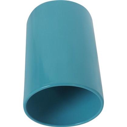 Накладной светильник цилиндрический цоколь GU10 8 см цвет бирюзовый