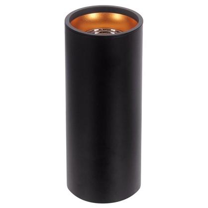 Накладной светильник светодиодный 12 Вт 3000 K 200 мм цвет черный/золотой
