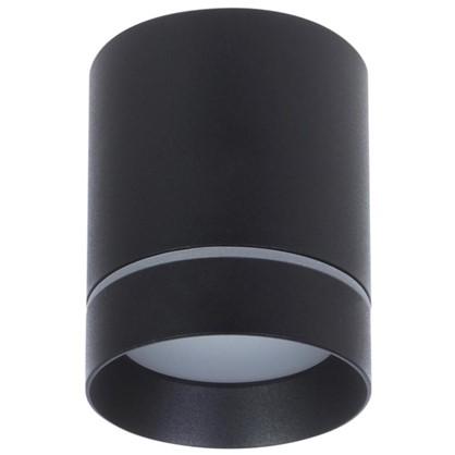 Накладной светильник светодиодный Elektrostandard DLR021 9 Вт 4200 К цвет черный матовый свет холодный белый