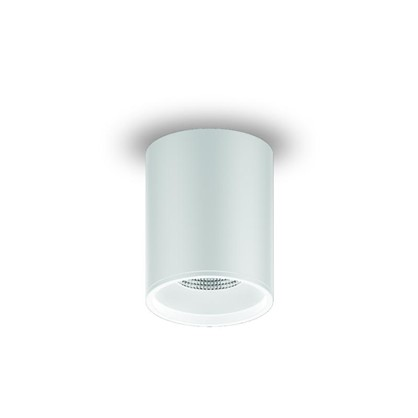 Накладной светильник светодиодный Gauss HD030 12 Вт 3000 K 79x100 мм цвет белый