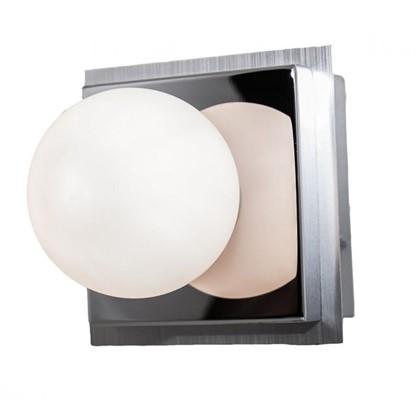Светильник настенный Escada шар/база 1хG9 IP44 цвет хром