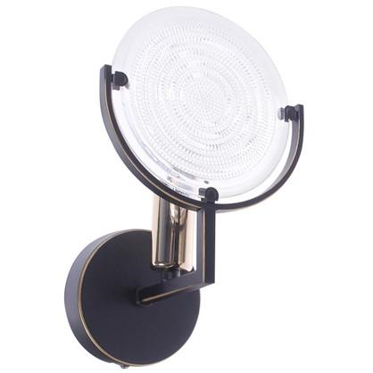Светильник настенный Genry 1275 1хE14х60 Вт цвет кофе