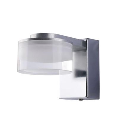 Светильник настенный светодиодный Escada 1х3 Вт IP44 стекло цвет хром