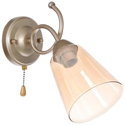 Светильник настенный Zarina 1185 1хE27х60 Вт цвет перламутровый