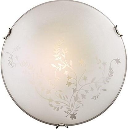 Светильник настенно-потолочный Kusta 2xE27x100 Вт цвет белый/бронза