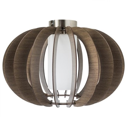 Светильник настенно-потолочный Stellato3 1xE27x60 Вт цвет коричневый