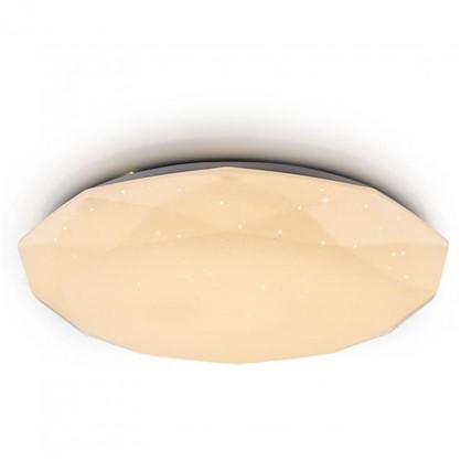 Светильник настенно-потолочный светодиодный 60 Вт 50 см цвет белый пульт