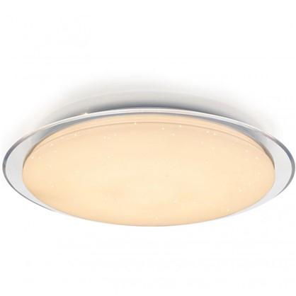 Светильник настенно-потолочный светодиодный 60 Вт 58 см цвет белый пульт