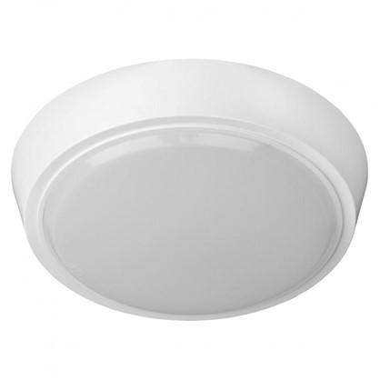 Светильник настенно-потолочный светодиодный круглый 15 Вт 1200 Лм цвет белый