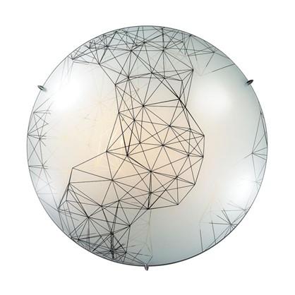 Светильник настенно-потолочный светодиодный Webi 28 Вт стекло