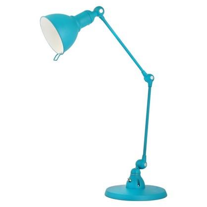 Светильник настольный Grace KD-334 1хЕ27х40 Вт цвет бирюзовый