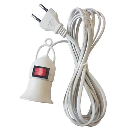 Светильник переносной E27 длина провода 3 м
