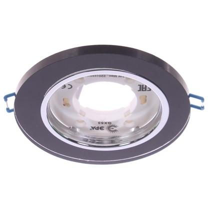 Светильник под лампу GX53 Эра 220 В 13 Вт цвет черный