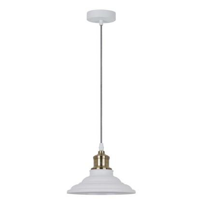 Светильник подвесной Cymbal PL-600 1xE27x40 Вт 2 м² цвет белый