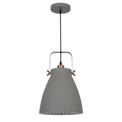Светильник подвесной New York PL-428L 1xE27x60 Вт 3 м² цвет серый