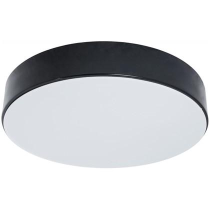 Светильник потолочный светодиодный 48200 230 В 1x36 Вт 14 м² 6400 К регулируемый свет 30 см цвет черный