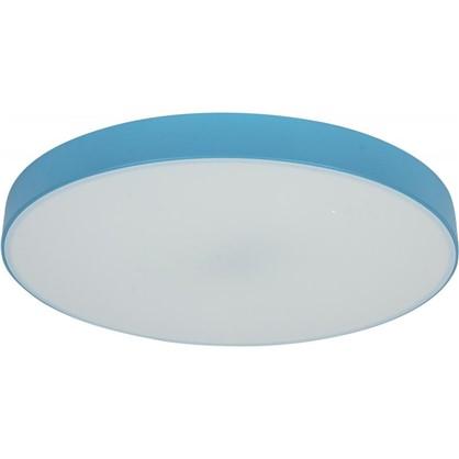 Светильник потолочный светодиодный Color 25 м² цвет синий