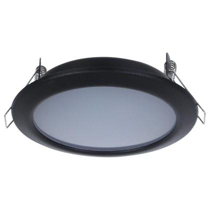 Светильник светодидный Стандарт 6 Вт 550 Лм 220 В цвет черный свет дневной белый