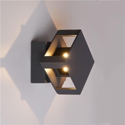 Светильник светодиодный фасадный Techno 1606 12 Вт цвет черный