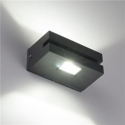 Светильник светодиодный фасадный Techno 1611 6 Вт цвет черный