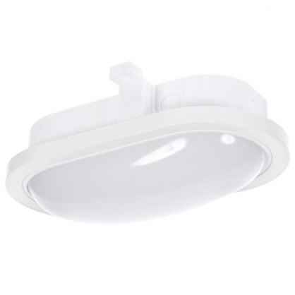 Светильник светодиодный овальный 1300 Лм IP44 цвет белый
