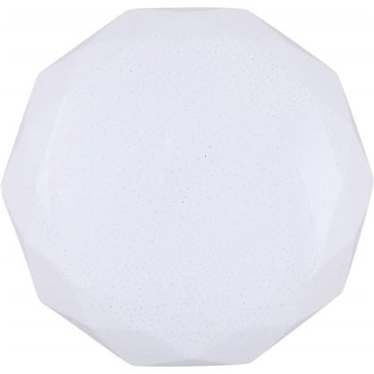 Светильник светодиодный с пультом управления Polaris 33 18 м² с диммером холодный белый свет цвет белый