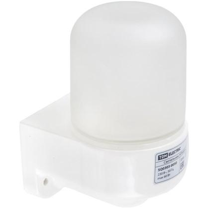 Светильник угловой TDM Electric Сауна 1xE27x60 Вт IP54