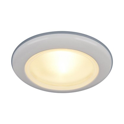 Светильник встраиваемый Электростандарт Spruzzo цоколь G5.3 50 Вт цвет белый IP44