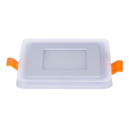 Встраиваемый светильник Gauss Backlight BL120 квадратный 3+3Вт свет теплый белый
