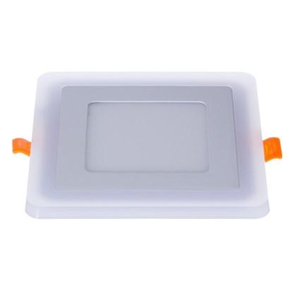 Встраиваемый светильник Gauss Backlight BL122 квадратный 6+3Вт свет теплый белый
