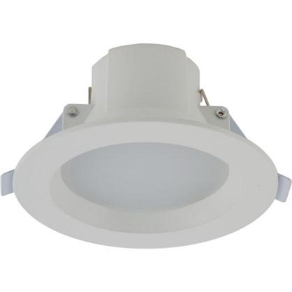 Встраиваемый светильник светодиодный 5 Вт 400 Лм 3000 К свет теплый белый 3 ступени диммирования