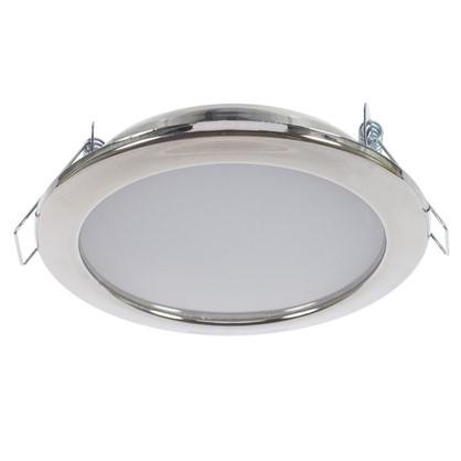 Встраиваемый светильник светодиодный 6 Вт 4000K 550Lm 220В цвет хром