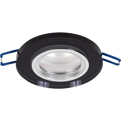 Встраиваемый светильник светодиодный Bohemia 512171 GU5.3x50 Вт цвет черный
