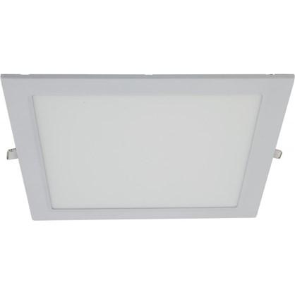 Встраиваемый светильник светодиодный квадрат 18 Вт белый свет