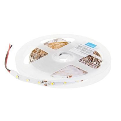 Светодиодная лента 4.8Вт/60LED/м свет теплый белый IP20