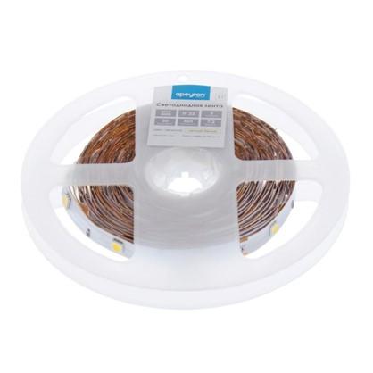 Светодиодная лента smd 5050 7.2Вт/30LED/м свет теплый белый IP23