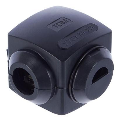 Сжим ответвительный У-731 10/10 кв.мм поликарбонат цвет чёрный IP20