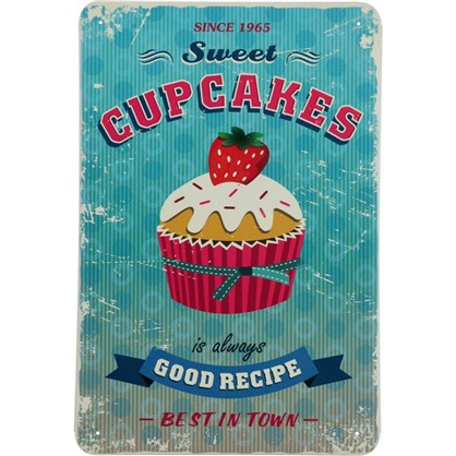 Табличка Cupcakes 20x30 см