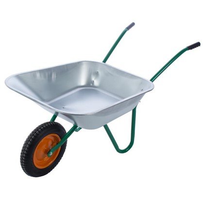 Тачка садовая 90 кг/65 л в