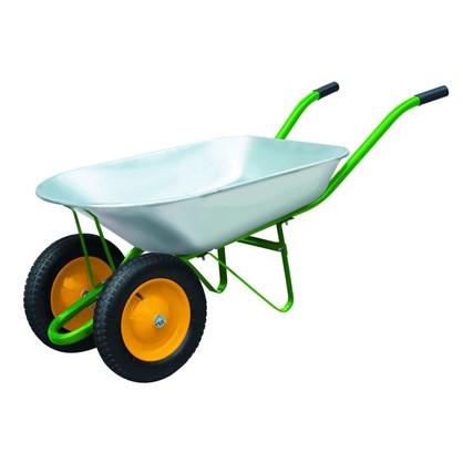 Тачка садовая на двух колёсах 170 кг/78 л