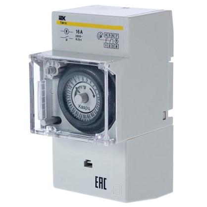 Таймер аналоговый ТЭМ181 на DIN-рейку 16 А 230 В