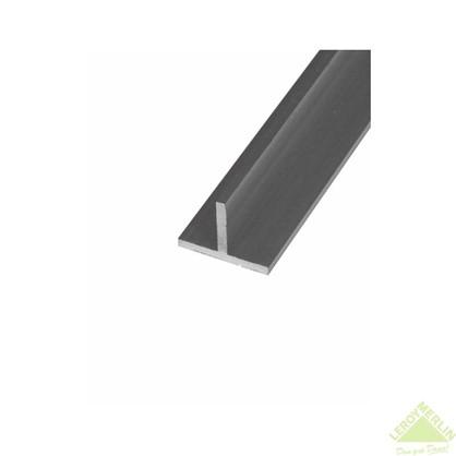 Тавр алюминиевый 15х15х2 см 1 м цвет серебро