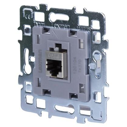 Телефонная розетка Lexman Виктория RJ11 1 разъем