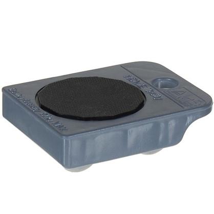 Тележка TPR-пластик цвет серый металлик до 150 кг