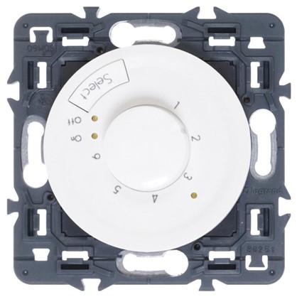 Терморегулятор Celiane для теплого пола с датчиком цвет белый