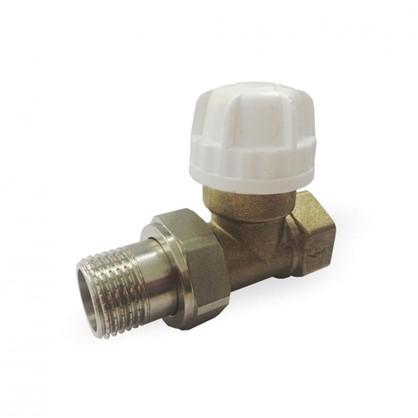 Термостатический комплект для радиатора прямой 1/2 дюйма