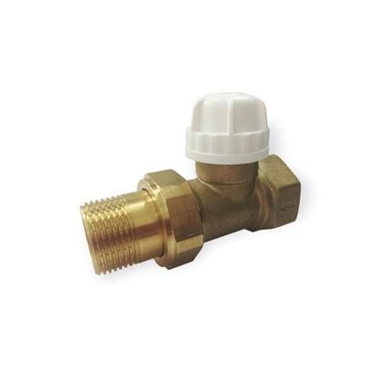 Термостатический комплект для радиатора прямой 3/4 дюйма